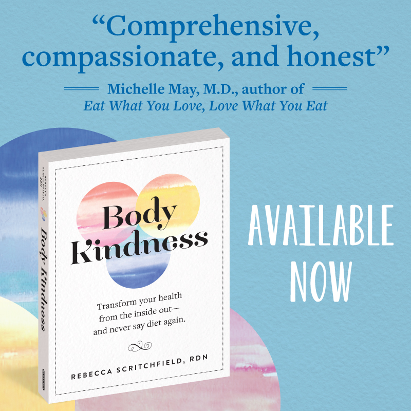 "Comprehensive, compassionate, and honest - Michelle May, MD, author of ""Eat What You Love, Love What You Eat"""