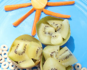 Art Projects You Can Actually Eat with Zespri SunGold Kiwifruit (and Contest!)
