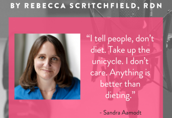 Episode 51: Why Diets are Bad for Your Brain with Neuroscientist and TED Talk Superstar, Sandra Aamodt, PhD