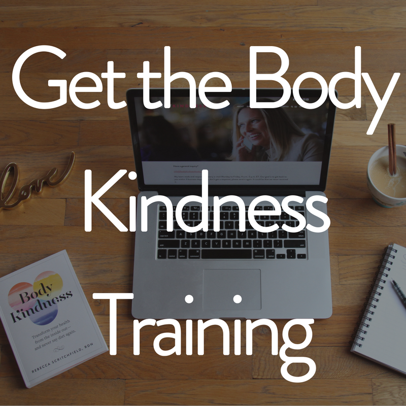 Get the Body Kindness Training