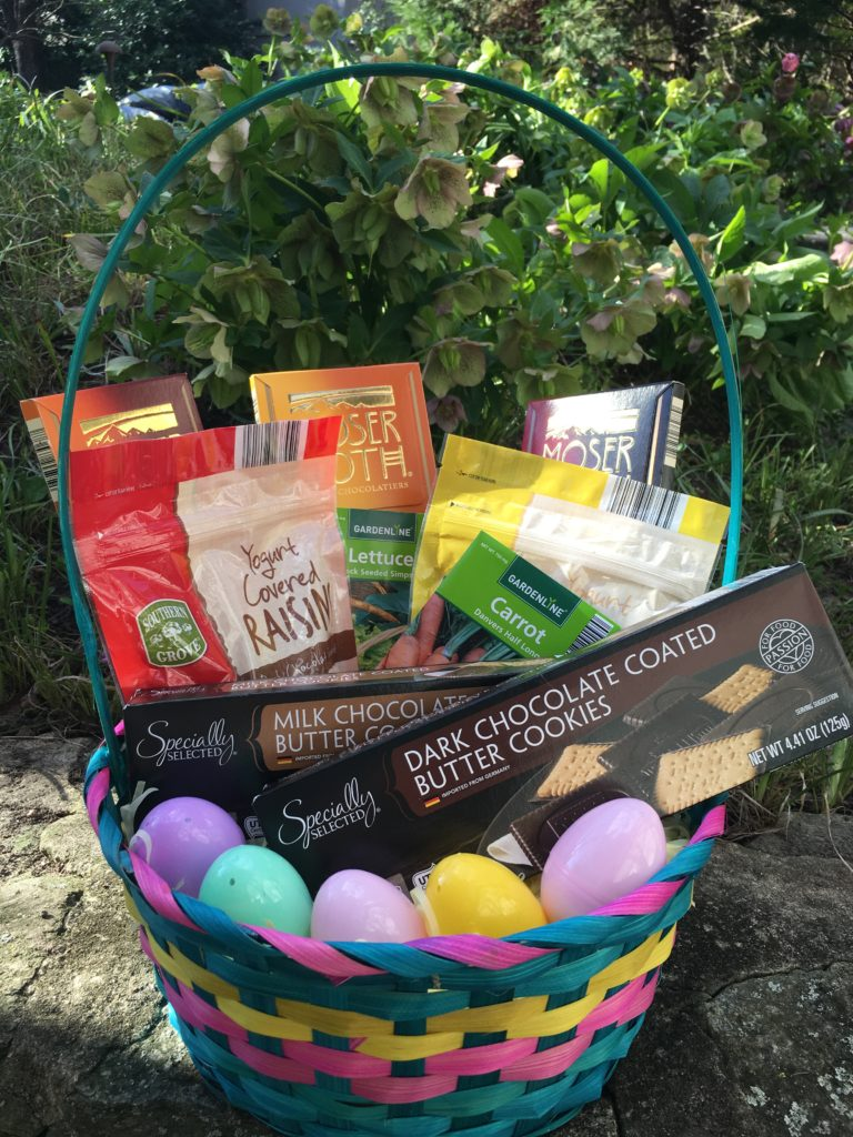 Money saving easter basket ideas blending sweets and fun with aldi read how you can enter to win a 50 aldi gift card and a signed copy of my book body kindness at the bottom of this post negle Images