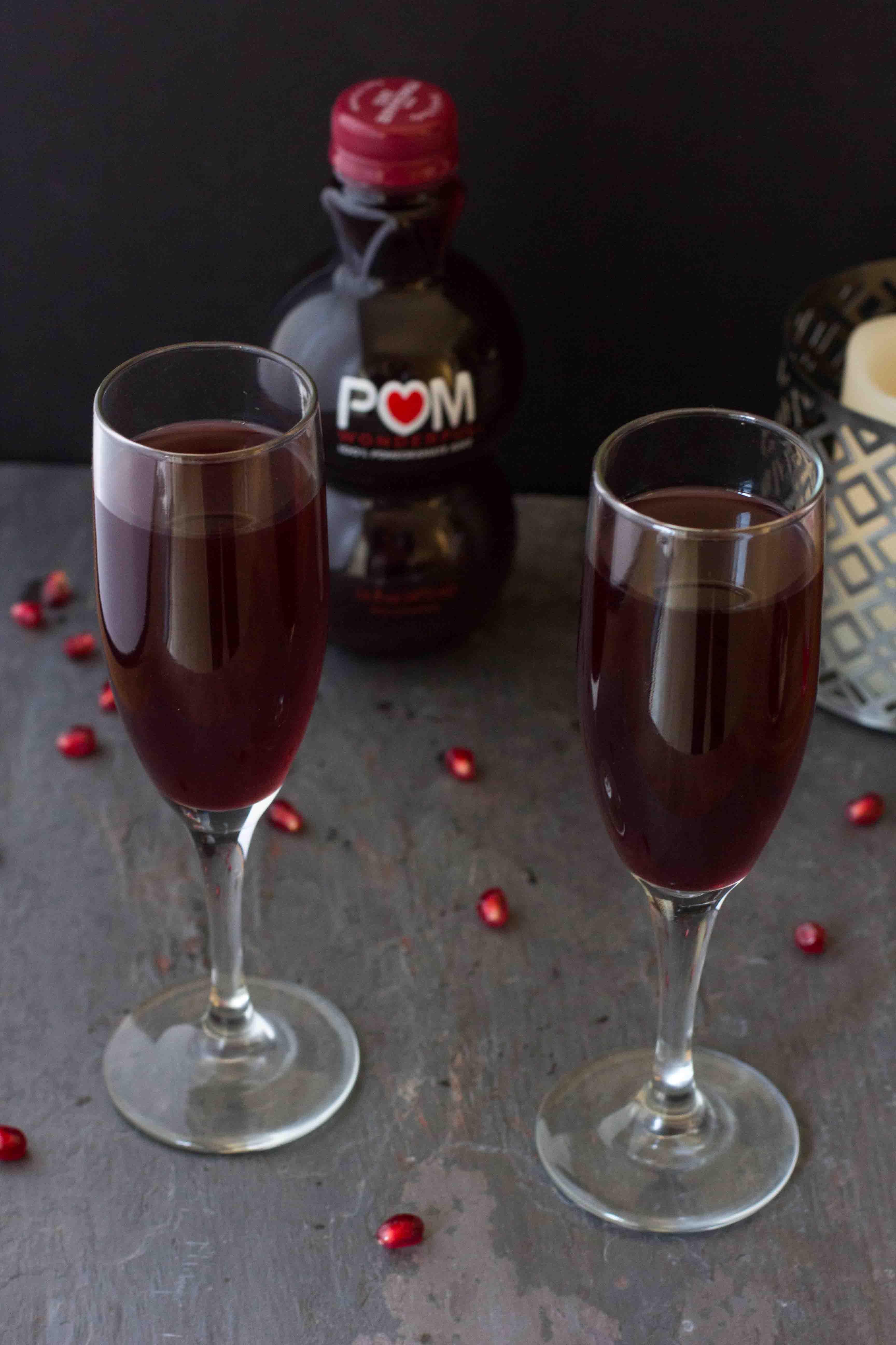 how to drink pom pomegranate juice