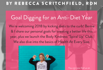 Episode 63: Goal Digging for an Anti-Diet Year