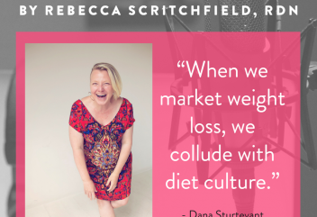 "It's Good to be ""RAD"" Why radical dietetics is a good thing for health enhancement with Dana Sturtevant of Be Nourished"