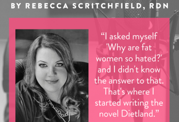 Episode 83: Dietland on AMC with Sarai Walker, author of the Novel, Dietland