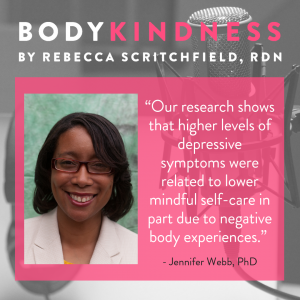 Podcast 111: Negative body image, depression, and mindful self-care in pregnancy and postpartum with Dr. Jennifer Webb