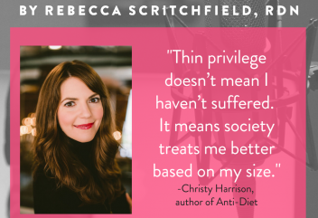 "Podcast 138: Why being ""ANTI-diet"" is ""pro"" health with Christy Harrison, HAES dietitian, host of Food Psych podcast and author of Anti-Diet"