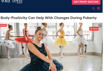 Body-Positivity Can Help With Changes During Puberty: Your Teen for parents