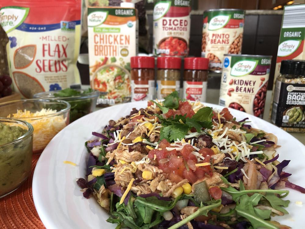Chicken Tortilla Grilled Salad
